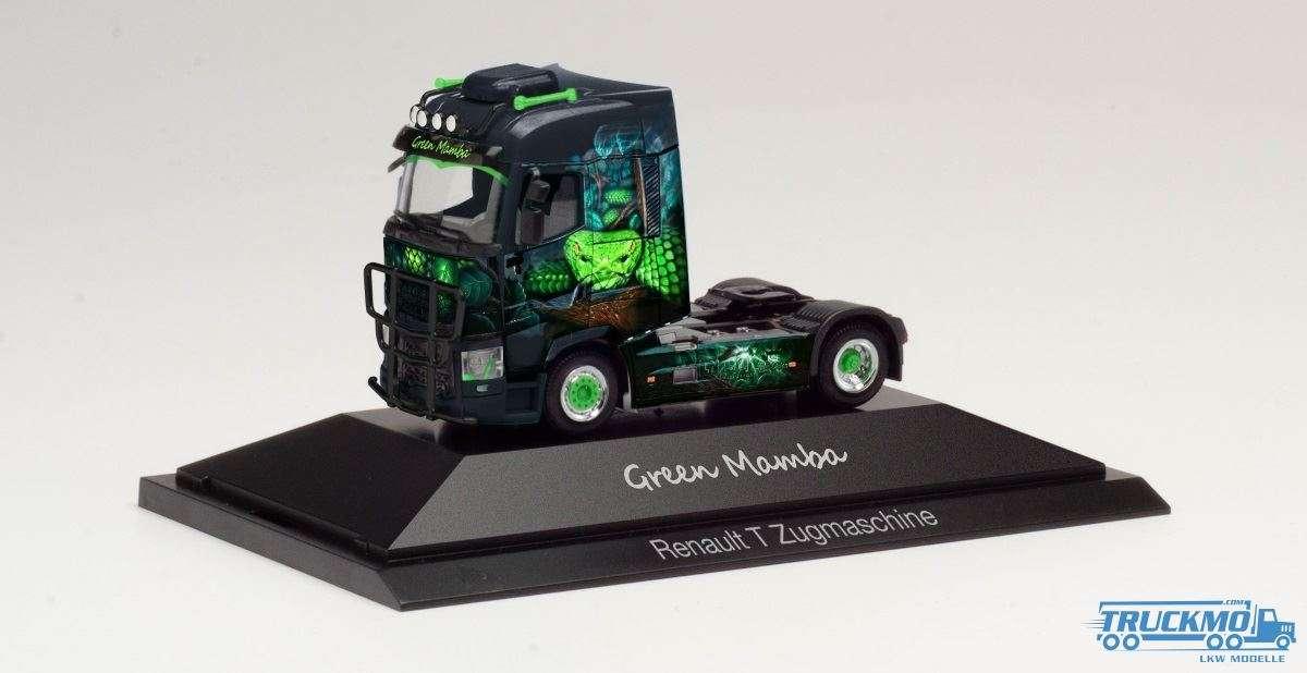 Herpa Green Mamba Renault T Zugmaschine 111010