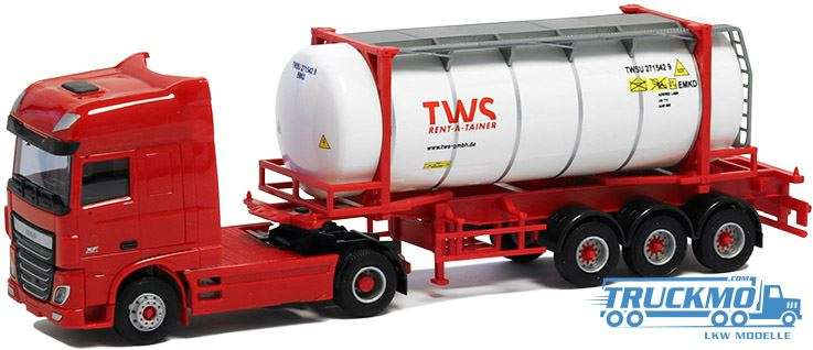 AWM TWS DAF XF Euro 6 Tankcontainerauflieger 5027