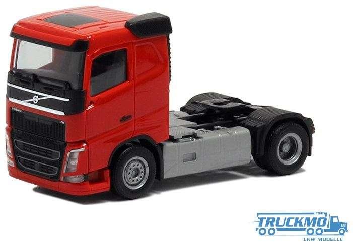 Herpa Volvo FH Flachdach rot 590703