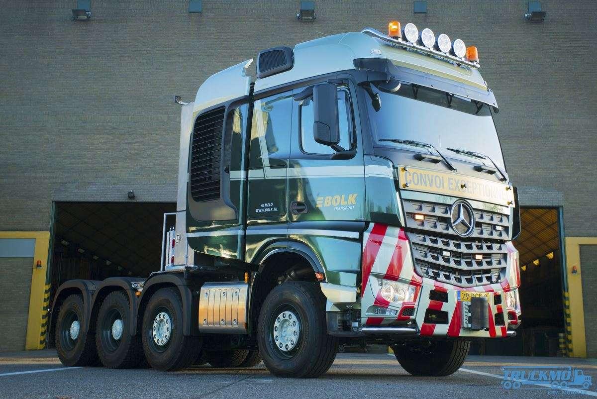 Hedendaags WSI Bolk Transport Mercedes Benz Actros MP4 SLT Big Space 01-2870 TP-67