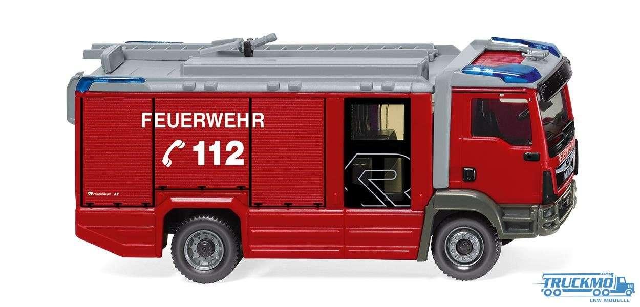 Wiking Feuerwehr MAN TGM Euro 6 Rosenbauer AT LF 061246