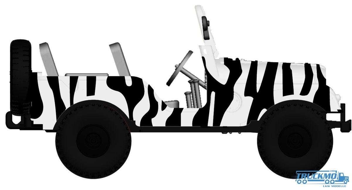 Brekina Safari Jeep Universal Arwico 58903