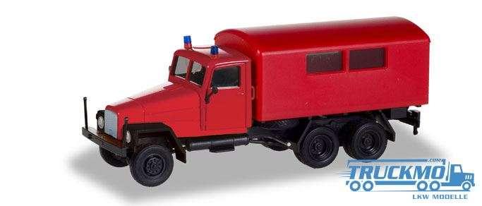 Herpa Feuerwehr IFA G5 Koffer-LKW 308731