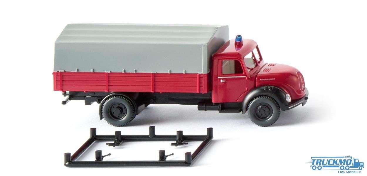 Wiking Feuerwehr Magirus Pritschen-Lkw 086143