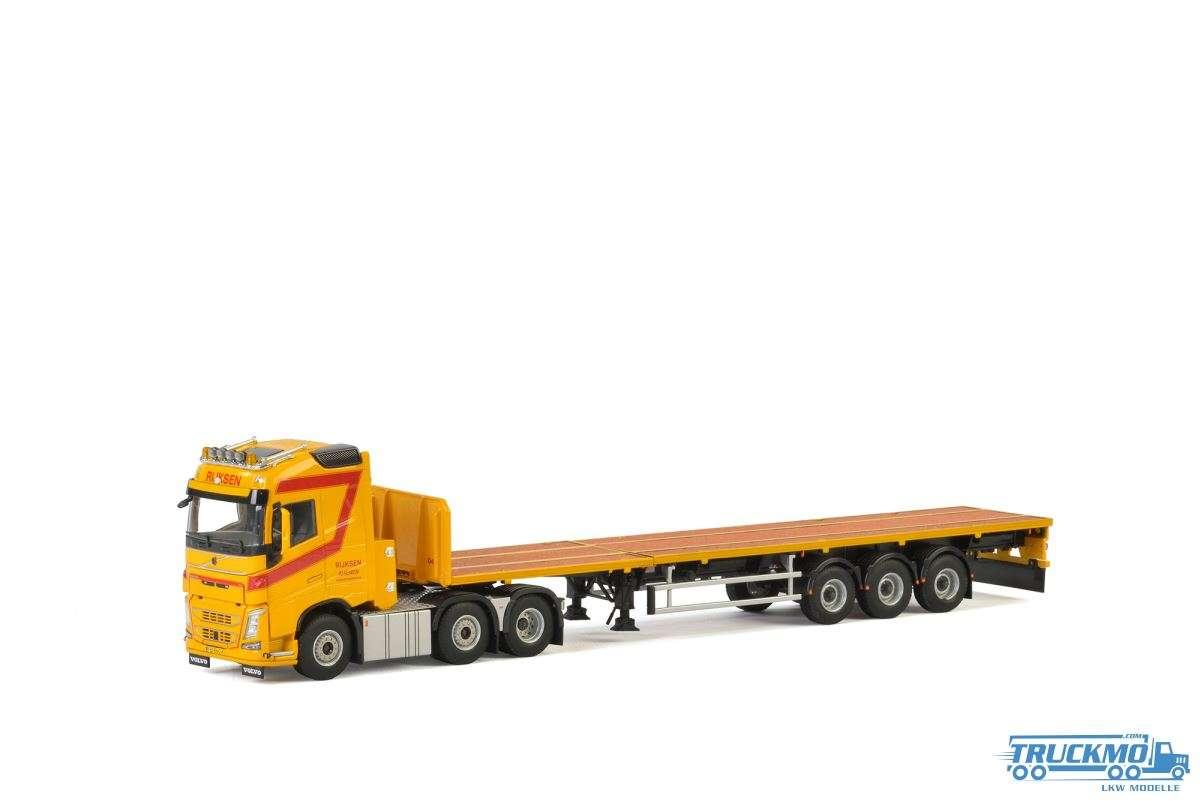 WSI Rijksen Transport Volvo FH4 Globetrotter Flachbettauflieger (3 Achs) 01-2367