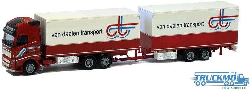 AWM Van Daalen Volvo XL Tandem Koffer Hängerzug 75249