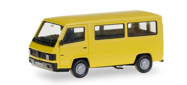 Herpa H-Edition Mercedes-Benz 100 D Bus mit Kennzeichenbedruckung 028806