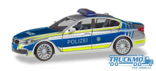 Herpa Lotsenfahrzeug Polizei München BMW 5er Limousine G30 094566
