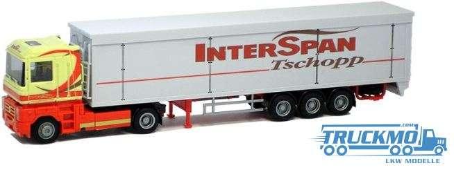 AWM Tschopp / Interspan Renault Magnum Schubboden-Sattelzug 73998