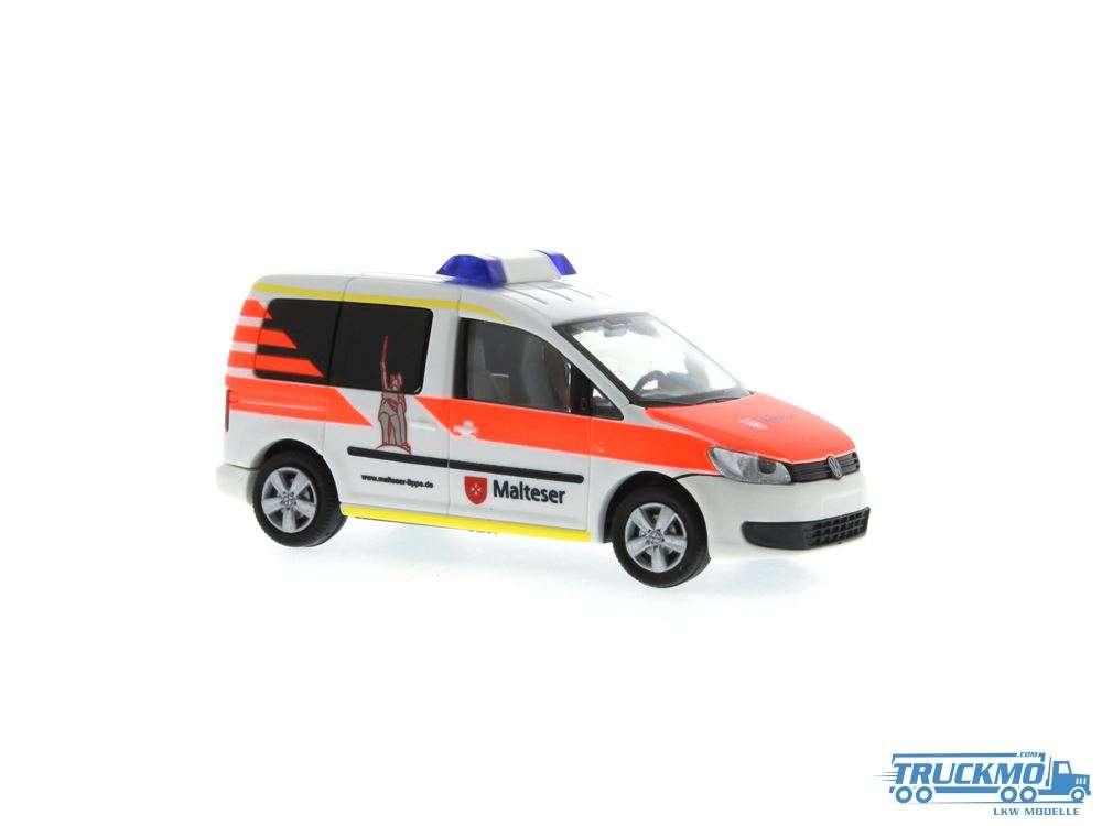 Rietze Malteser Lippe Volkswagen Caddy 11 52912