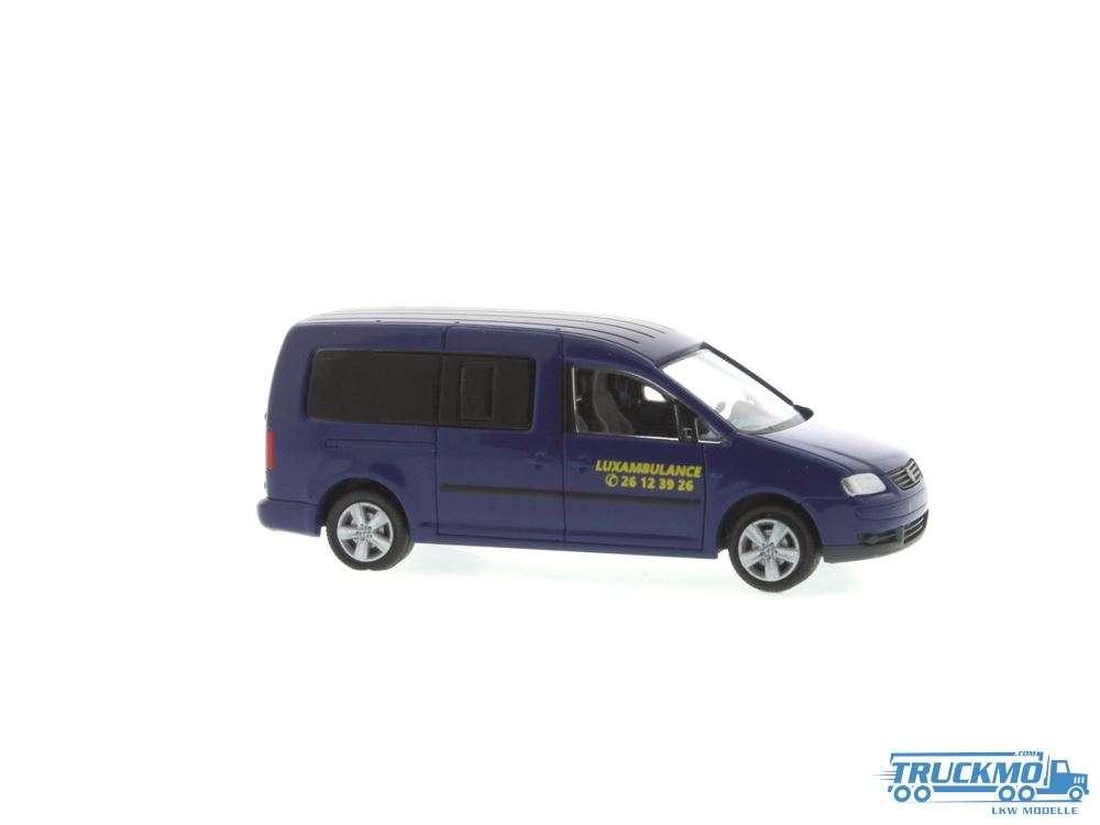 Rietze Luxambulance Volkswagen Caddy Maxi 51558