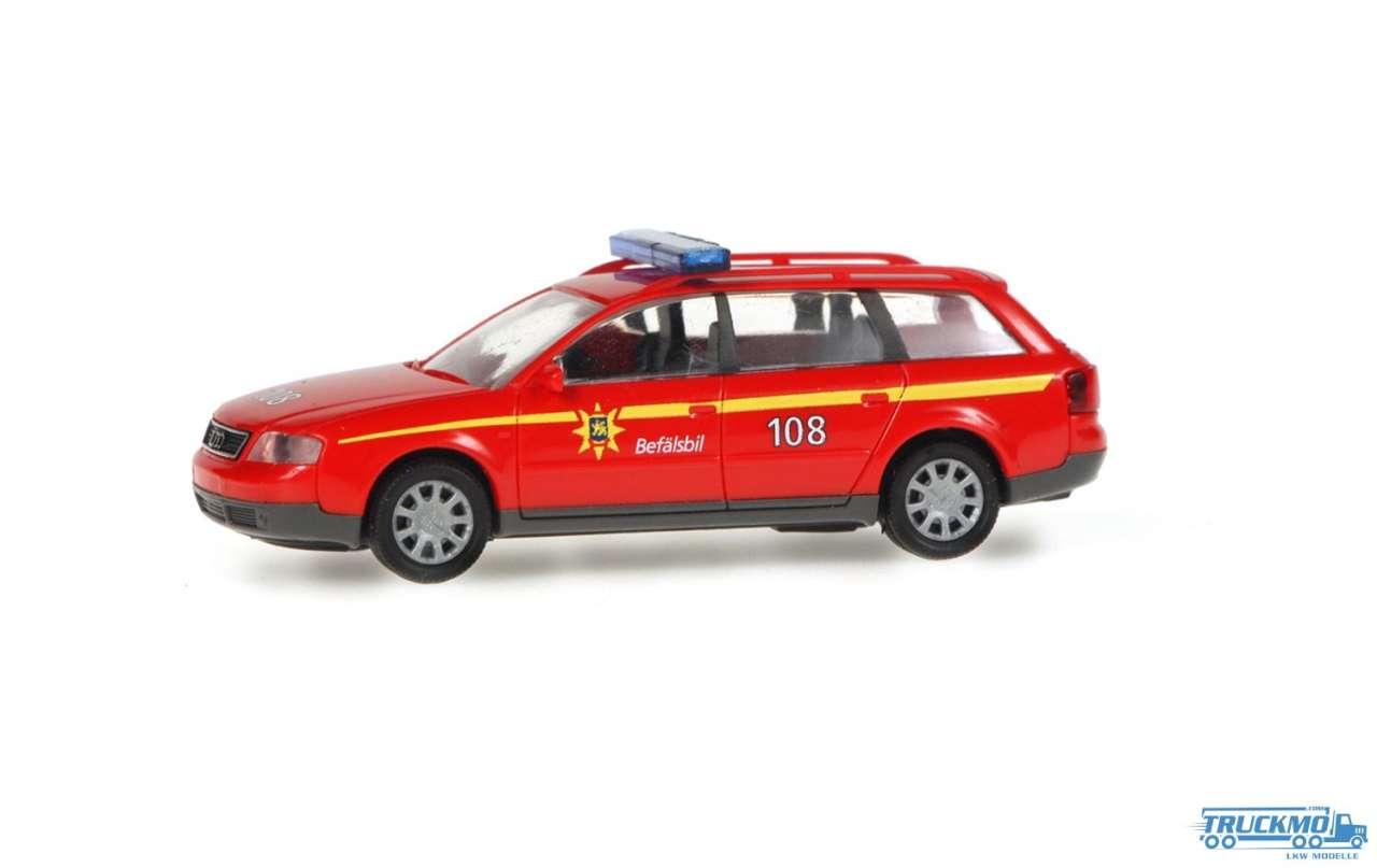Rietze Feuerwehr Uppsala Audi A6 Avant 50936