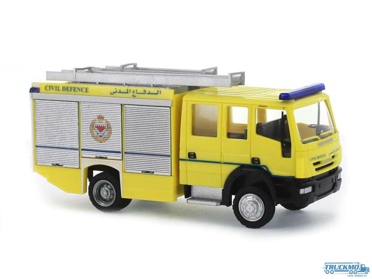 Rietze Civil Defence Bahrein Iveco Magirus HLF 20/16 61241