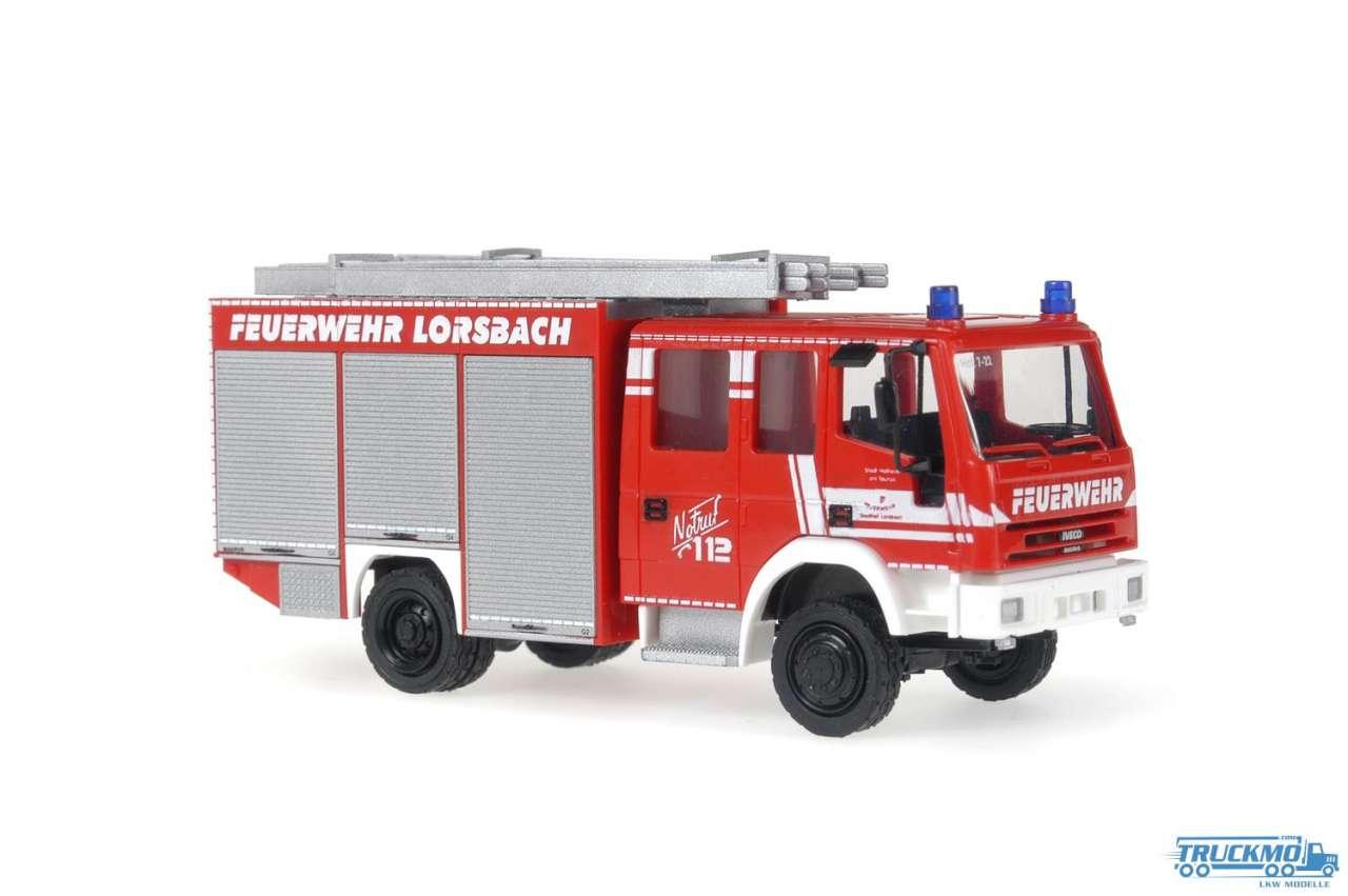 Rietze Feuerwehr Lorsbach Iveco Eurofire 68107