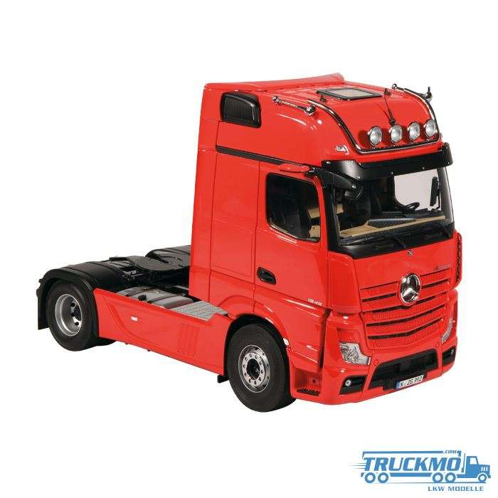 NZG Mercedes Benz Actros 2018 Gigaspace Mirror Cam rot 992/10