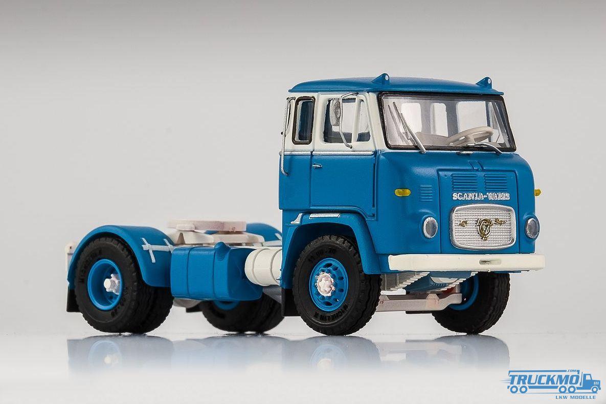 Scania 143 Streamline Truck Zugmaschine blau weiss 1:18 Road Kings