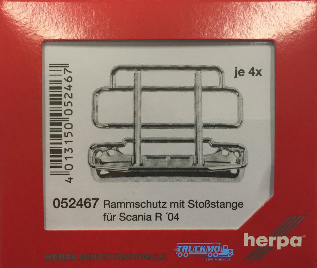 Herpa Rammschutz (m. Stoßstange) für Scania R 4 Stk.