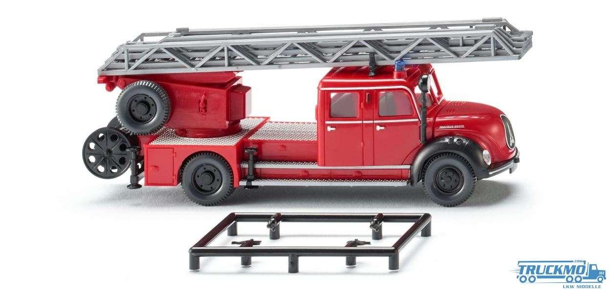 Wiking Feuerwehr Magirus DL 25h Drehleiter 086234