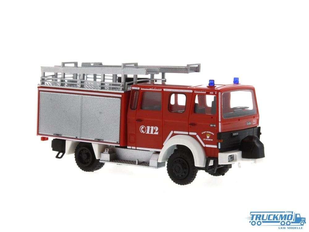 Rietze Feuerwehr Duisburg Magirus Lentner MK LF 16-TS 71220