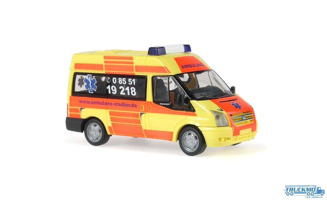 Rietze Ambulanz Stadler Ford Transit 06 52505
