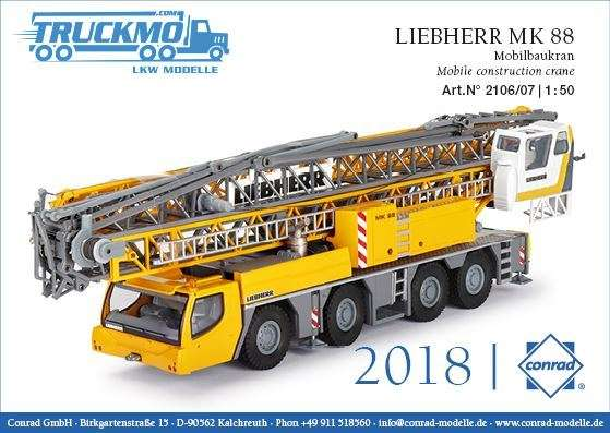 Conrad LIEBHERR MK 88 Mobilbaukran 2106/07