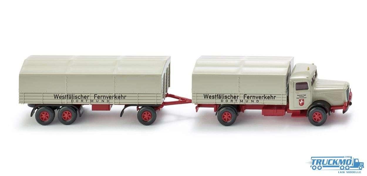Wiking Spedition Vogt Büssing 8000 Pritschenlastzug 085805