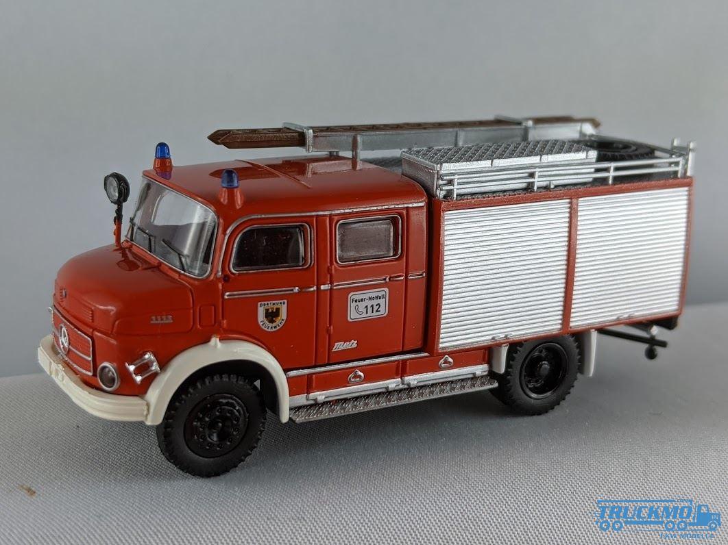 Brekina 94729 MB LAF 1113 Tanklöscher FW Dortmund Sondermod Intermodellbau 2020