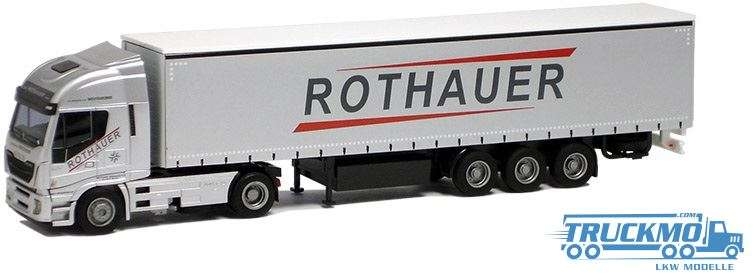 AWM Rothauer Iveco Stralis HiWay Planenauflieger 75407