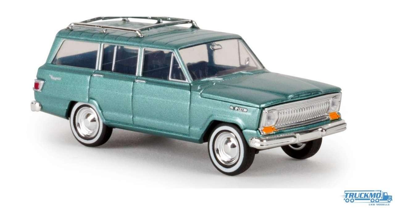Brekina Jeep Wagoneer grün metallic 19853
