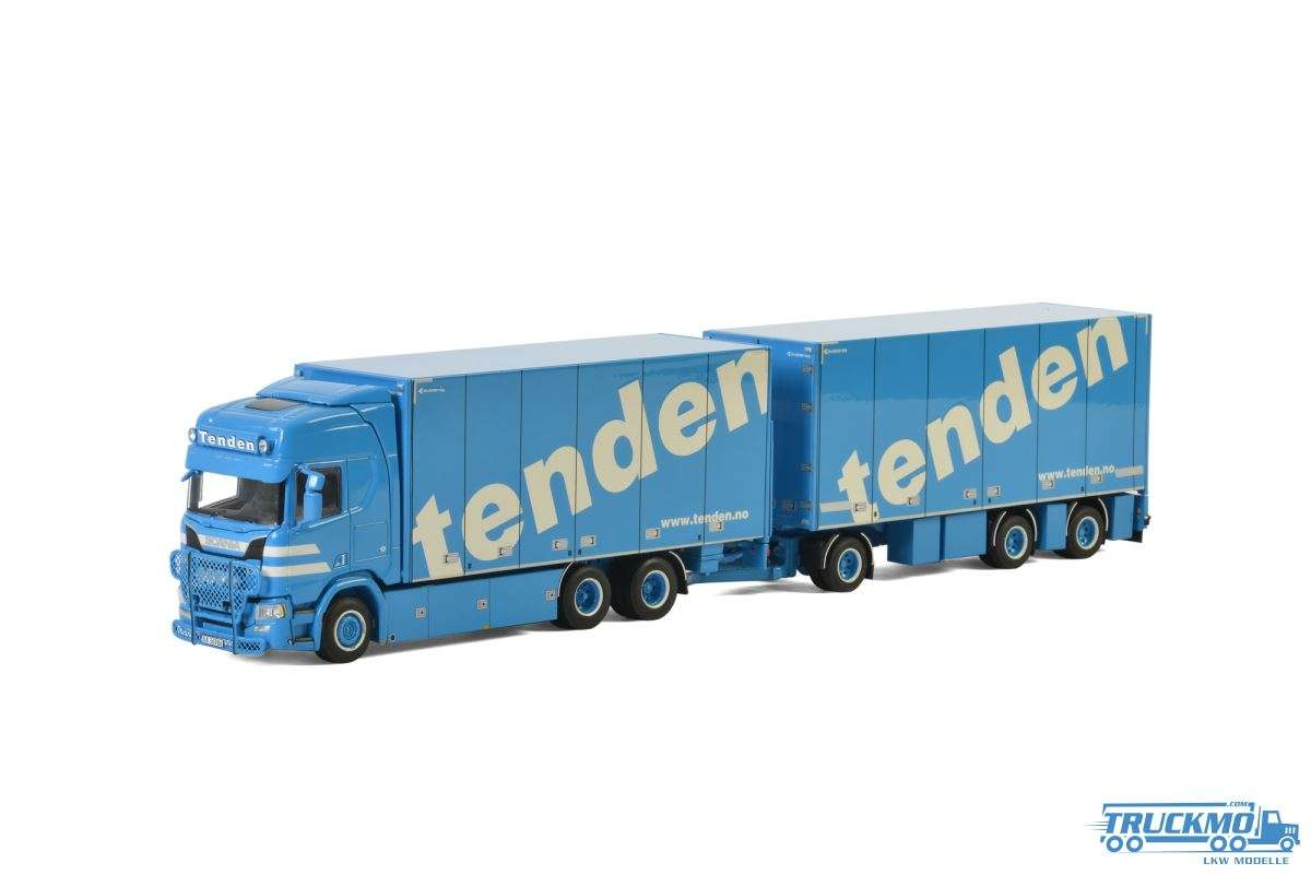 WSI Tenden Scania R Highline CR20H Hängerzug 01-2457