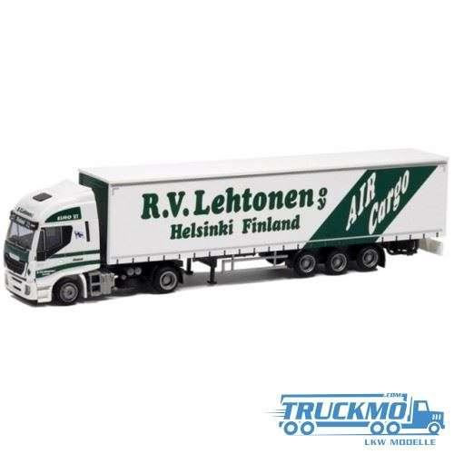 AWM Lehtonen Iveco Stralis HiWay Planenauflieger 53632