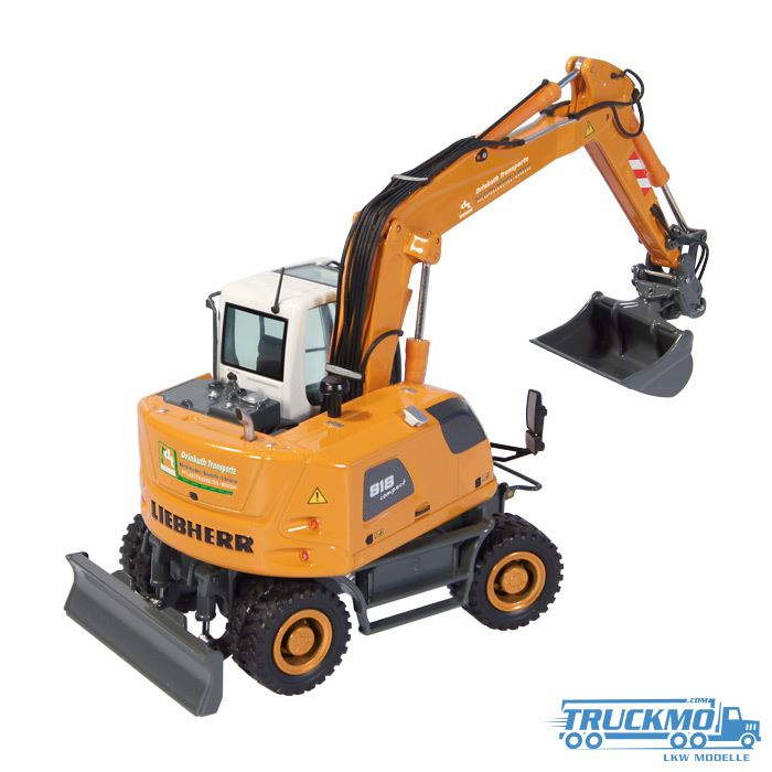 nzg drinkuth liebherr a 918 compact litronic mobilbagger 818 03 truckmo com lkw modelle und baumaschinen modelle online shop