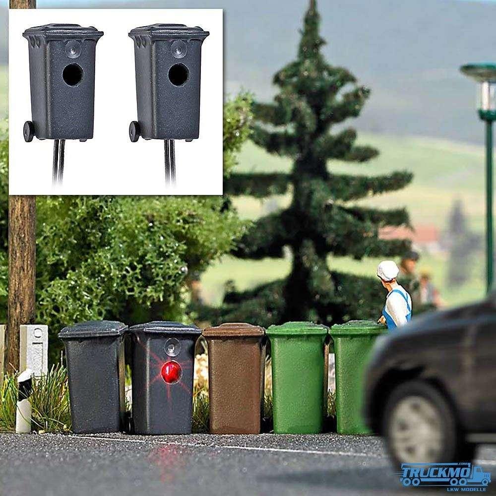 Busch zwei Mülltonnenblitzer 5633