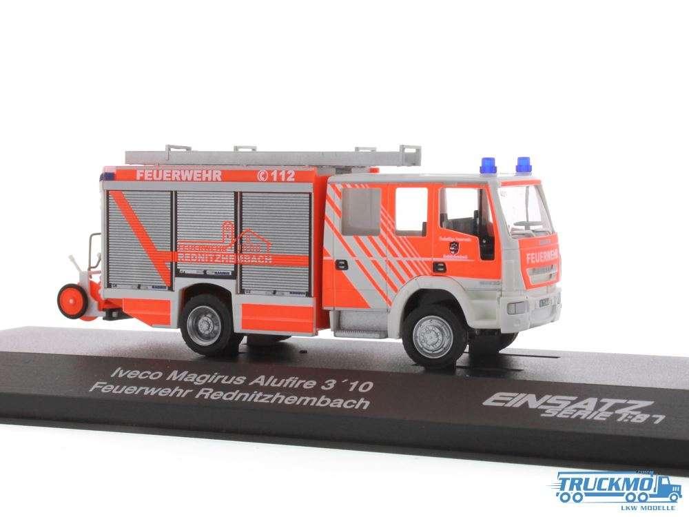 Rietze Feuerwehr Rednitzhembach Iveco Magirus Alufire HLF 20 68307