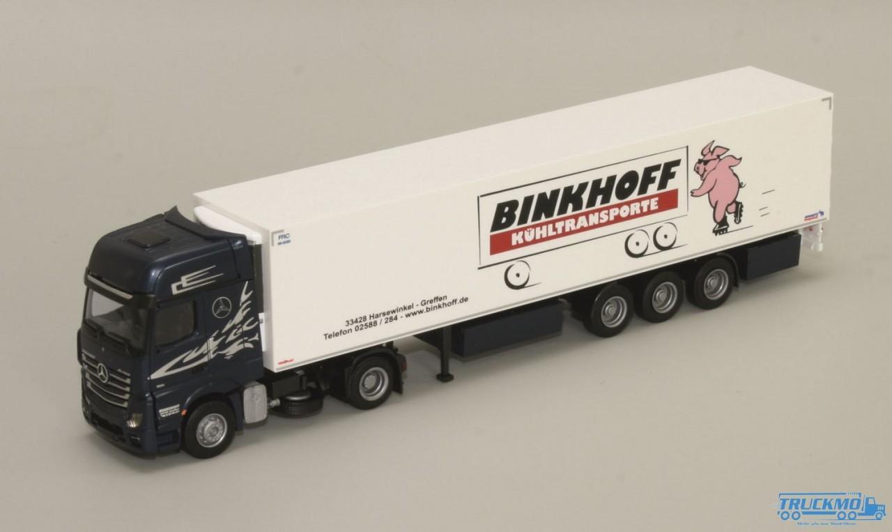 AWM Binkhoff Mercedes Benz Actros2 Giga. / Aerop. - KSZ
