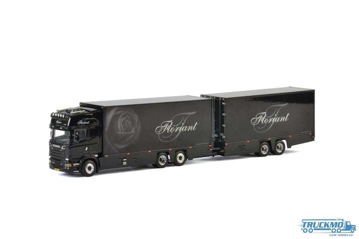 WSI Floriant LKW Modell Scania R Streamline Topline Hängerzug 01-2213