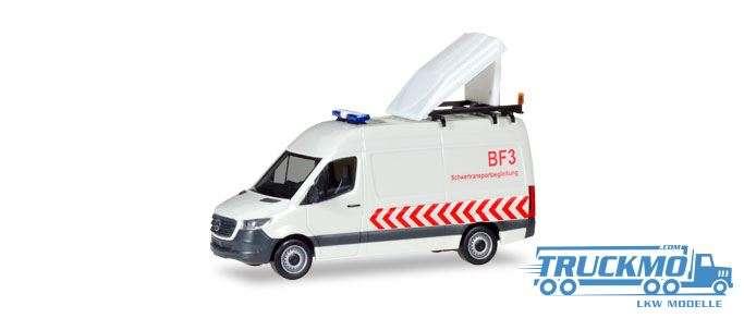 Herpa Schwertransportbegleitung Mercedes-Benz Sprinter Kasten Hochdach BF3 093880