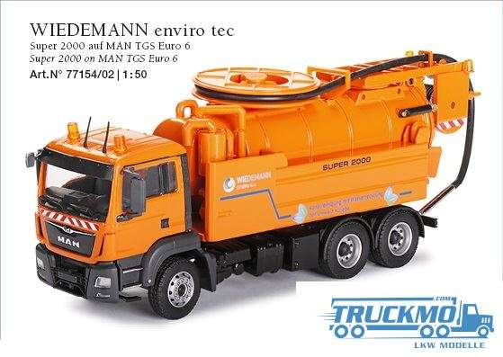 Conrad MAN TGS Euro 6 Wiedemann enviro tec Super 2000 77154/02