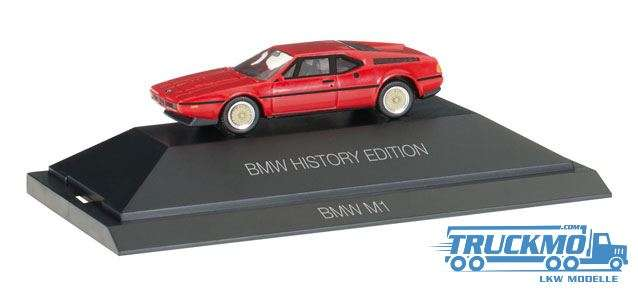 "Herpa BMW M1 ""BMW History Edition"" 102025"