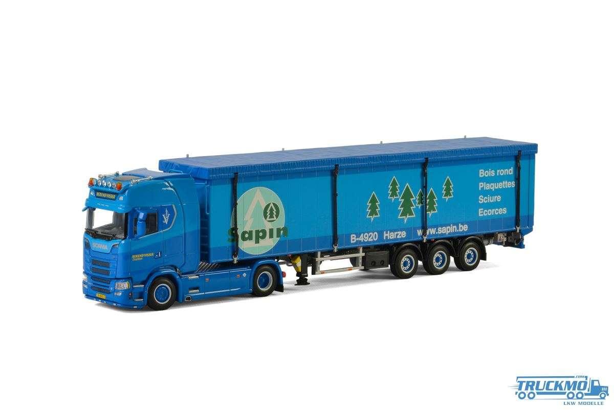 WSI Berend Visser Scania S Highline CS20H Schubbodenauflieger 01-2306