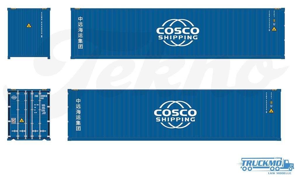 Tekno TB Cosco 40ft Container 76196
