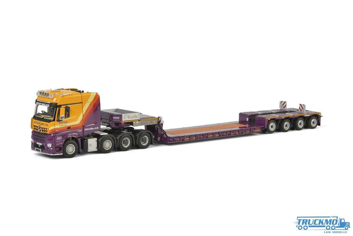IMC models Ruttle Plant Hire Mercedes Benz Arocs 8x4 Nooteboom Euro PX 4 Achs Tieflader 5550272