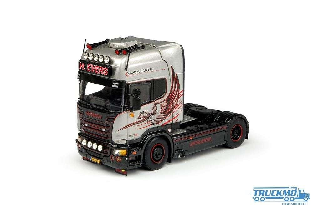 Tekno H. Evers LKW Modell Scania R-Serie Topline 4x2 69732