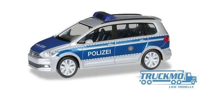 Herpa Polizei Berlin VW Touran 094412