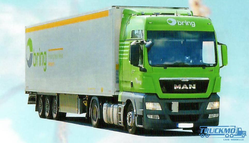AWM Bring MAN TGX XXL Kühlauflieger 74457