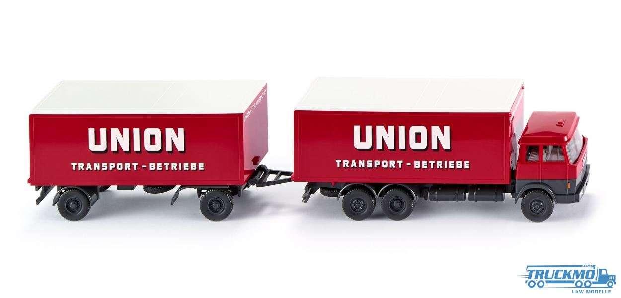 Wiking Union Transport Hanomag Henschel Kofferlastzug 045701