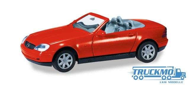 Herpa MiniKit: MB SLK Roadster rot 012188-004