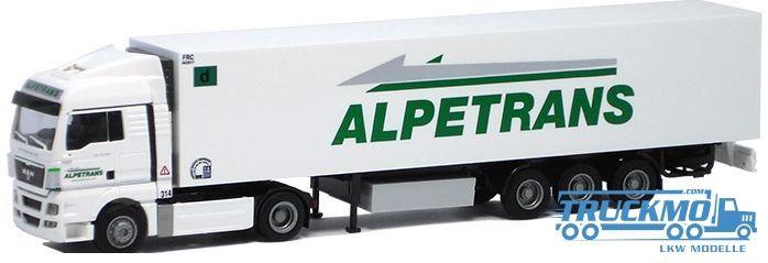 AWM Alpetrans LKW MAN TGX XLX/Aerop.-Kühl-KSZ Modell