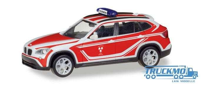 Herpa Feuerwehr Landshut BMW X1 Kommandowagen 093552