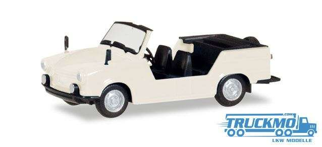 Herpa Trabant Kübel perlweiß 024808-003